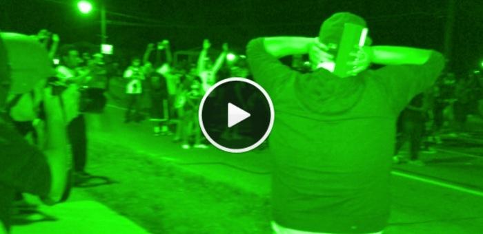 Video Still from Argus Radio Ferguson coverage.